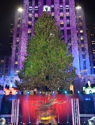 Tall Standing Christmas Decorations by History Of The Rockefeller Center Christmas Tree Daily Mail Online
