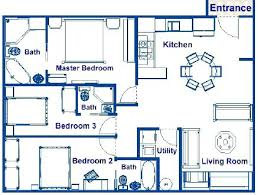 House Plans With Media Room 3 Bedroom Home Plans With Loft House Floor Plans 3 Bedroom 2 Bath