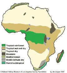 africa map climate zones africa and climate change impacts policies and stance ahead of
