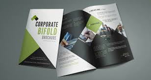 two fold brochure template word printable bi fold brochure