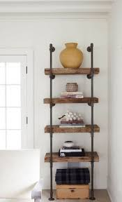 Pipe Shelves Kitchen by Best 25 Industrial Pipe Shelves Ideas On Pinterest Pipe Shelves