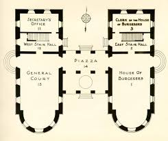 Capitol Building Floor Plan The Capitol Second Building 1747 1832 Historical Report Block 8