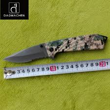 off the rid cabin daomachen folding knife half tooth tactical