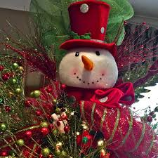 snowman tree topper christmas pinterest snowman tree topper