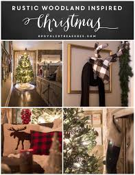 rustic woodland inspired christmas mountain modern life