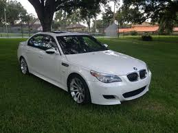 bmw 2006 white sell used 2006 bmw m5 5 0 v10 500hp white on black low