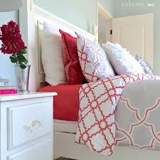 Home Goods Decorative Pillows Get Busy With Summertime Bedding