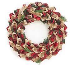 burlap wreath forever led lights craft sh0w