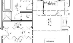 master bedroom addition floor plan bath walk house plans 14283