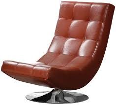 amazon com furniture of america graham leatherette armless swivel