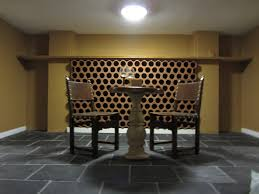 basement wine cellar and tasting room the sandcastle