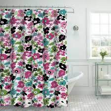 Bright Shower Curtain Buy Pink Floral Shower Curtains From Bed Bath Beyond