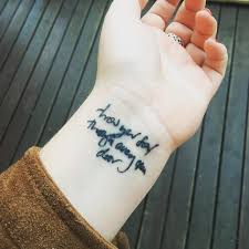 song lyric tattoos popsugar smart living