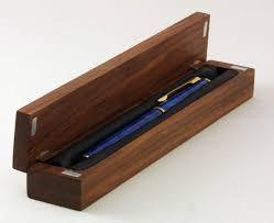 wooden pen box 3 steps