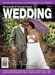 wedding magazines newcastle central coast wedding magazine
