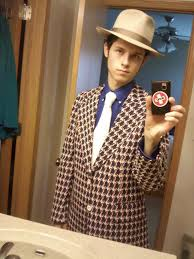 Bad Fashion Meme - okay the hats bad but that suit my eyes regret seeing this