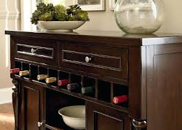 sideboard cabinet with wine storage buffet server wine rack visualdrift in black buffet server
