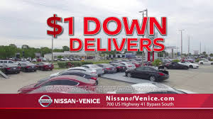nissan armada for sale sarasota fl 1 down delivers at nissan of venice youtube