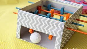 how to mini foosball table for kids make