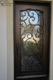 Unique Front Doors Unique Wrought Iron Front Doors Ideas Concept Landscape With
