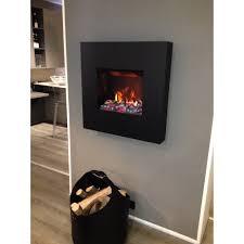 square water vapor electric fireplace kipling wall mounted