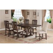 Espresso Trestle Kitchen  Dining Tables Youll Love Wayfair - Trestle kitchen tables