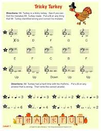 sing a new song tricky turkey worksheet free printable