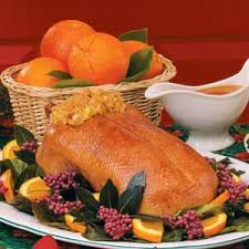 roast duck with orange glaze recipe taste of home