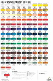 pictures rembrandt pastels colour chart drawing art gallery