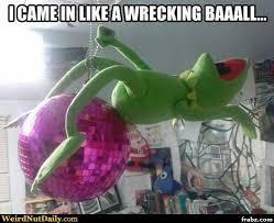 Kermit Meme Generator - disco ball kermit meme generator captionator caption generator