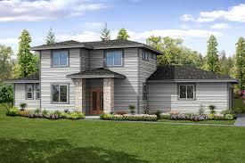 Prairie Home Style Prairie Style House Plans Larkview 31 057 Associated Designs