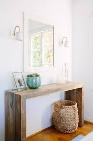 Entry Console Table Entryway Table And Mirror Entryway Ideas Pinterest Entryway