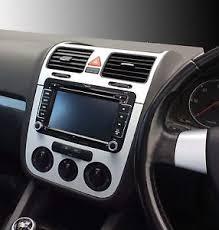 Vw Golf Mk5 Interior Styling Vw Golf Mk5 Jetta Bora Brushed Aluminium Effect Dash Surround