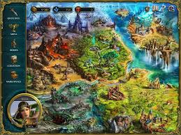 Show Me The World Map by Spellweaver Online Digital Card Game
