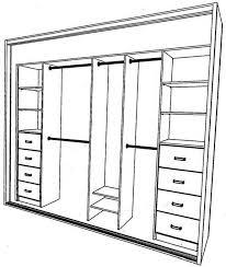 creative of closet design plans 25 best closet layout ideas on