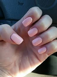 new nails short acrylic with shellac beauty pinterest