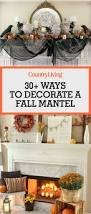 decorate 35 fall mantel decorating ideas halloween mantel decorations