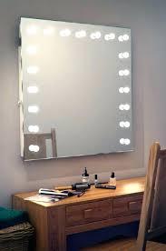 vanity mirror with led lights idea hollywood vanity mirror with lights and mirror led light for