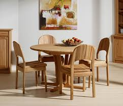 Traditional Round Dining Room Table Wharfside Danish Furniture - Beech kitchen table