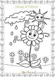 coloriages de printemps