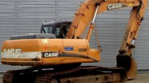 case cx210 crawler excavator service parts catalogue manual
