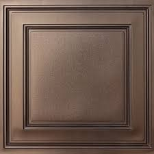 Faux Tin Ceiling Tiles Drop In by Stratford Vinyl Ceiling Tiles Bronze Faux Tin Ceiling Tiles
