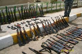 is that a sten found in a weapons cache in iraq bottom left guns