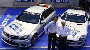 luxury cars logo sponsor logo added to f1 safety car