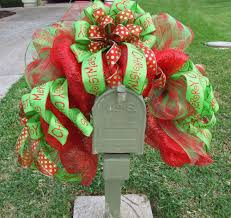mesh christmas tree wreath christmas lights decoration