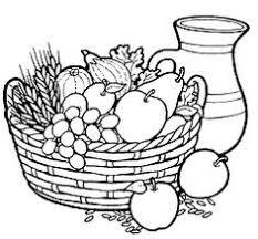 fruit bowl drawing for kids coloring pinterest digital image