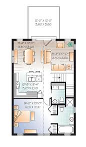 3 Car Garage With Apartment Plans 372 Best Floor Plans Images On Pinterest Small House Plans