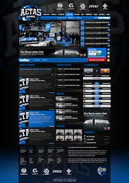 beste website design aetas esports web layout 2011 by aekro on deviantart