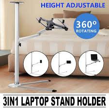 Adjustable Height Laptop Stand For Desk by 3in1 Laptop Stand Holder Folding Arms For Tablet Ipad Adjustable
