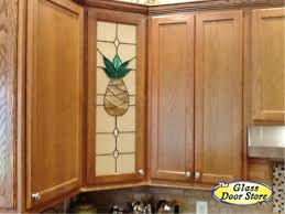 Glass Designs For Kitchen Cabinet Doors by Pineapple Stained Glass For The Kitchen Cabinet